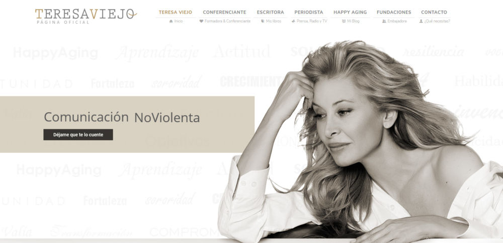 Diseño Web Teresa Viejo